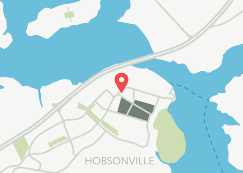 Hobsonville point map with Show suite location